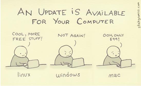 ...sau cum reactioneaza utilizatorii cand acestea devin disponibile